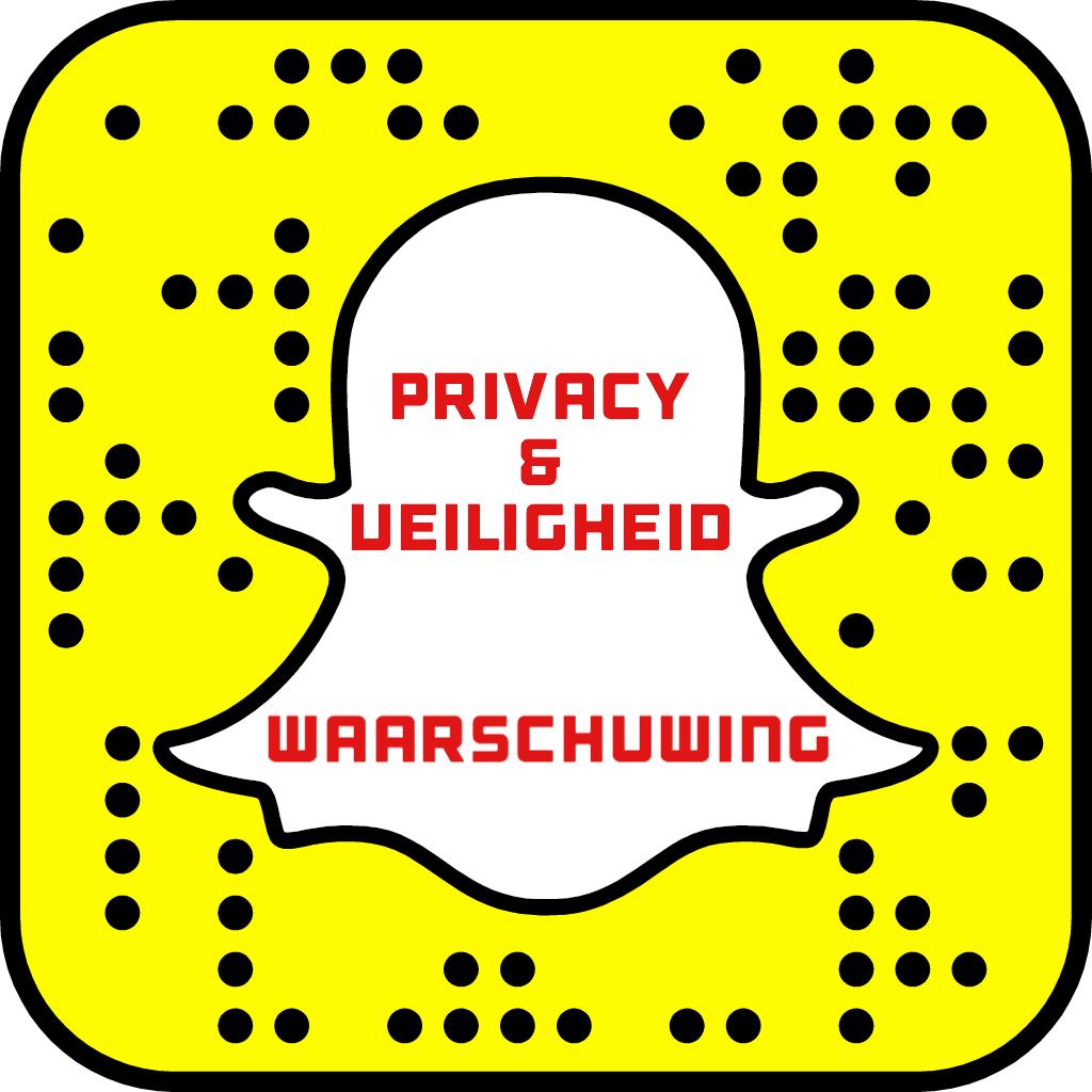 Snapchat waarschuwing